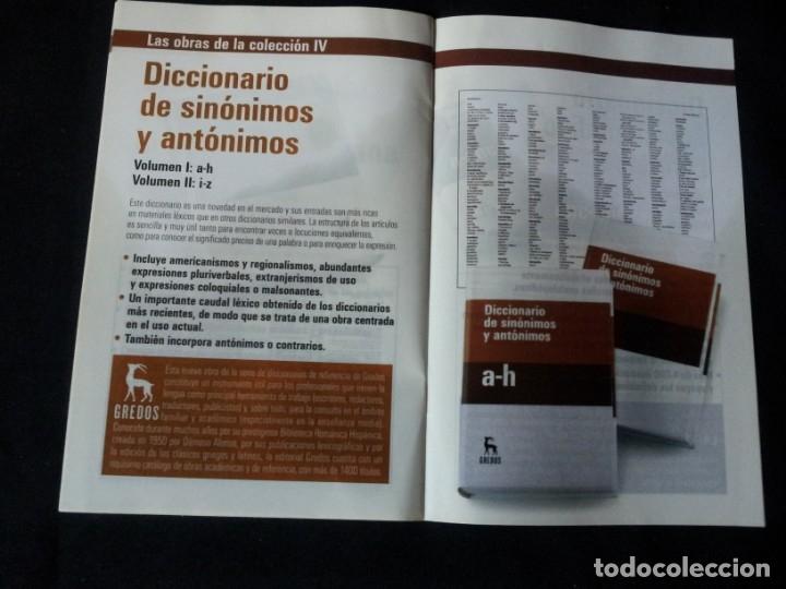 Diccionarios de segunda mano: GRANDES DICCIONARIOS - MARIA MOLINER, LAROUSSE, OXFORD UNIVERSITY PRESS, GREDOS Y JOAN COROMINES - Foto 16 - 175809173