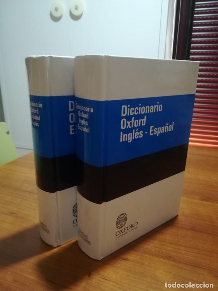 DICCIONARIO OXFORD INGLÉS-ESPAÑOL/ ESPAÑOL-INGLÉS. 2 VOLÚMENES. (Libros de Segunda Mano - Diccionarios)