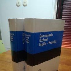 Diccionarios de segunda mano: DICCIONARIO OXFORD INGLÉS-ESPAÑOL/ ESPAÑOL-INGLÉS. 2 VOLÚMENES.. Lote 175918255