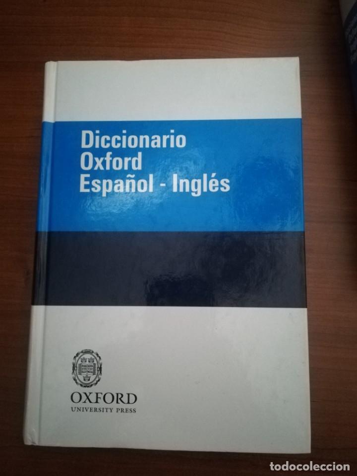 Diccionarios de segunda mano: Diccionario Oxford Inglés-Español/ Español-Inglés. 2 volúmenes. - Foto 3 - 175918255