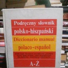 Diccionarios de segunda mano: PODRECZNY SLOWNIK, DICCIONARIO MANUAL POLACO-ESPAÑOL, ED. WIEDZA. Lote 176281350