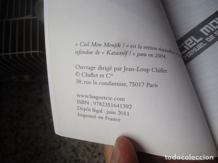 Diccionarios de segunda mano: Ciel mon moujik! manual de survie Franco - Ruso de Sylvain Tesson año 2011 - Foto 7 - 176282007