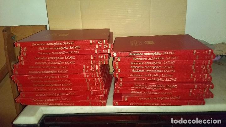 Diccionarios de segunda mano: Diccionario enciclopédico Salvat, completo, 26 volúmenes - Foto 2 - 176570059