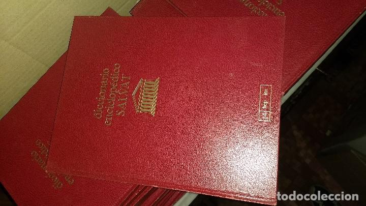 Diccionarios de segunda mano: Diccionario enciclopédico Salvat, completo, 26 volúmenes - Foto 3 - 176570059