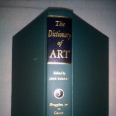 Diccionarios de segunda mano: THE DICTIONARY OF ART [GROVE]. VOLUME 5 (BRUGGHEN, TER -- CASSON) EDITED BY JANE TURNER.. Lote 177082315