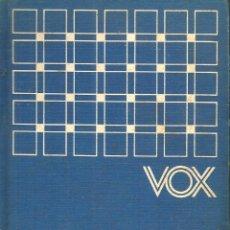 Diccionarios de segunda mano: VOX DICCIONARIO ABREVIADO FRANCÉS-ESPAÑOL ESPAÑOL-FRANCÉS. VV.AA.. Lote 177473299