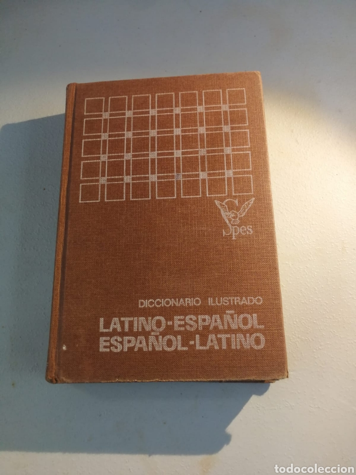 DICCIONARIO ILUSTRADO LATINO-ESPAÑOL ESPAÑOL LATINO SPES (Libros de Segunda Mano - Diccionarios)