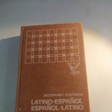 Diccionarios de segunda mano: DICCIONARIO ILUSTRADO LATINO-ESPAÑOL ESPAÑOL LATINO SPES. Lote 177666599