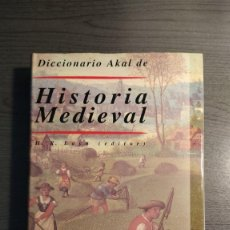 Livros em segunda mão: DICCIONARIO AKAL DE HISTORIA MEDIEVAL. H.R. LOYN (ED.). . Lote 178060257