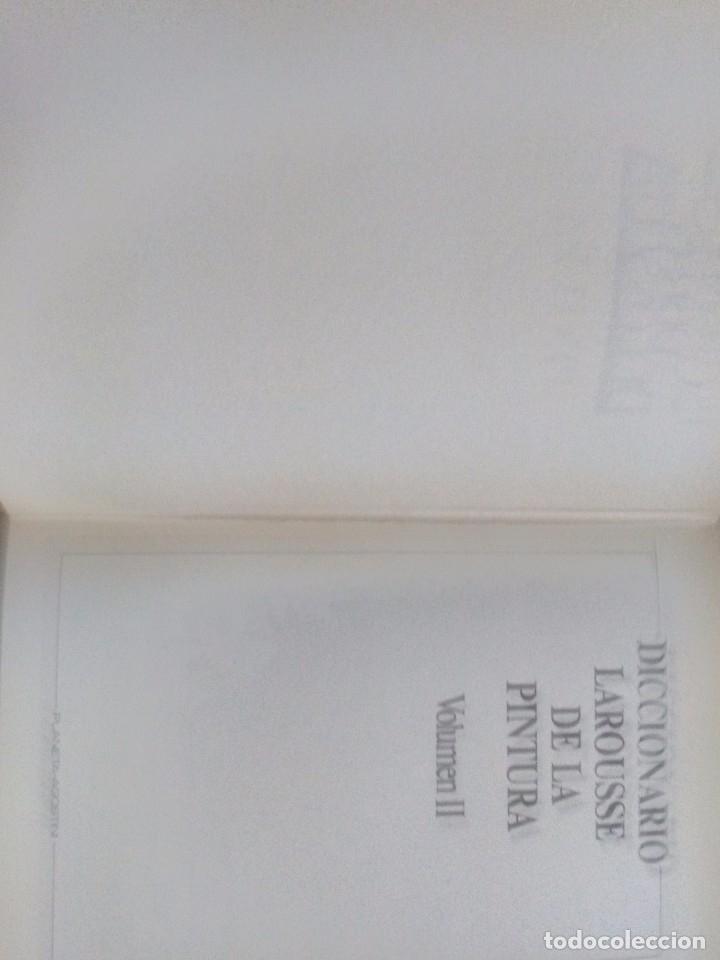 Diccionarios de segunda mano: Diccionario Larousse de la pintura - Foto 2 - 178231155