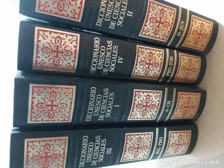 Diccionarios de segunda mano: Diccionario Unesco de Ciencias Sociales - Foto 3 - 178241557