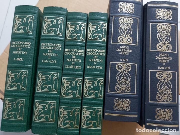 Diccionarios de segunda mano: Nuevo diccionario Médico. Diccionario Geográfico de Agostini - Foto 3 - 178242892