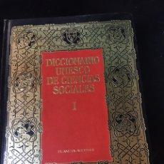 Diccionarios de segunda mano: DICCIONARIO UNESCO DE CIENCIAS SOCIALES I Y II - GRANDES OBRAS DE CONSULTA. Lote 178445862