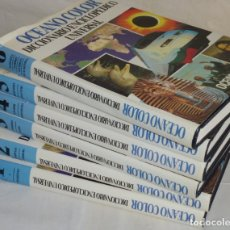 Diccionarios de segunda mano: 6 TOMOS - OCÉANO COLOR - DICCIONARIO ENCICLOPÉDICO UNIVERSAL.. Lote 179053480
