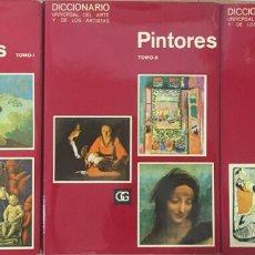 Diccionarios de segunda mano: DICCIONARIO UNIVERSAL DEL ARTE Y DE LOS ARTISTAS - PINTORES 3 VOLS. - AA. VV.. Lote 179125198