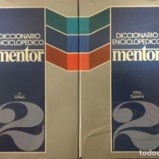 Diccionarios de segunda mano: DICCIONARIO ENCICLOPÉDICO MENTOR - AA. VV.. Lote 179125267