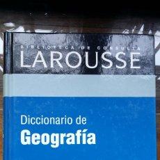 Diccionarios de segunda mano: DICCIONARIO DE GEOGRAFIA RBA LAROUSSE. Lote 180155926