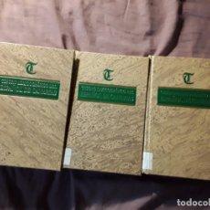 Diccionarios de segunda mano: TESORO LEXICOGRAFICO DEL ESPAÑOL DE CANARIAS 2.ª ED. CORREGIDA Y AUMENTADA. 3 VOL.. Lote 180251831