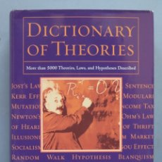 Diccionarios de segunda mano: DICTIONARY OF THEORIES. Lote 180401826