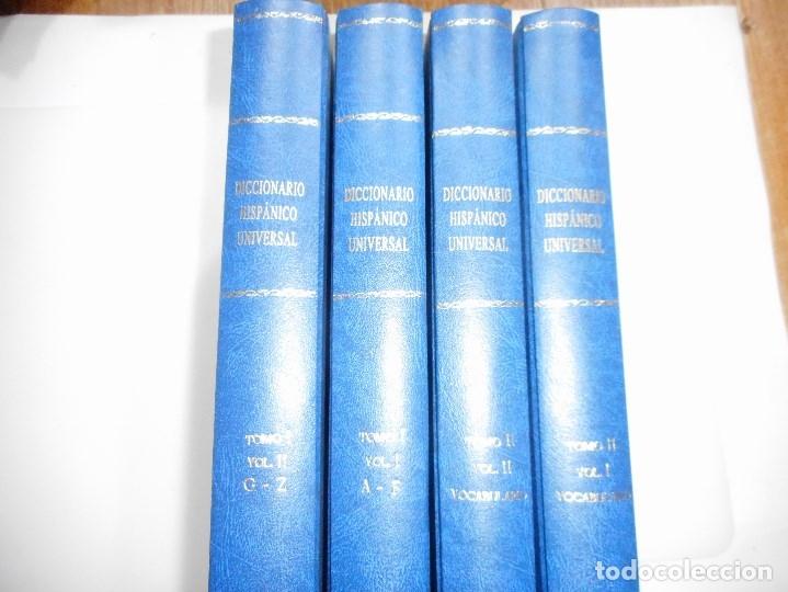 DICCIONARIO HISPÁNICO UNIVERSAL (4 TOMOS) Y96678 (Libros de Segunda Mano - Diccionarios)