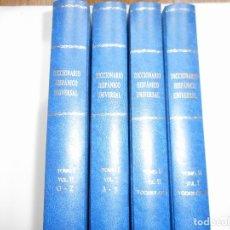 Diccionarios de segunda mano: DICCIONARIO HISPÁNICO UNIVERSAL (4 TOMOS) Y96678. Lote 180933858