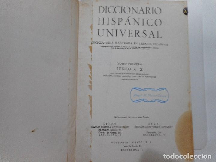 Diccionarios de segunda mano: Diccionario hispánico universal (4 tomos) Y96678 - Foto 3 - 180933858
