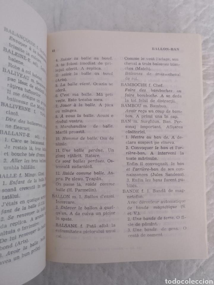 Diccionarios de segunda mano: Dictionar modern franco-roman de cuvinte expresii si locutiuni. Ion Schinteie. Libro - Foto 3 - 181137203