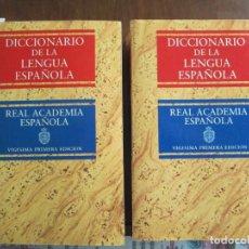 Diccionarios de segunda mano: DICCIONARIO DE LA LENGUA ESPAÑOLA. Lote 181562458