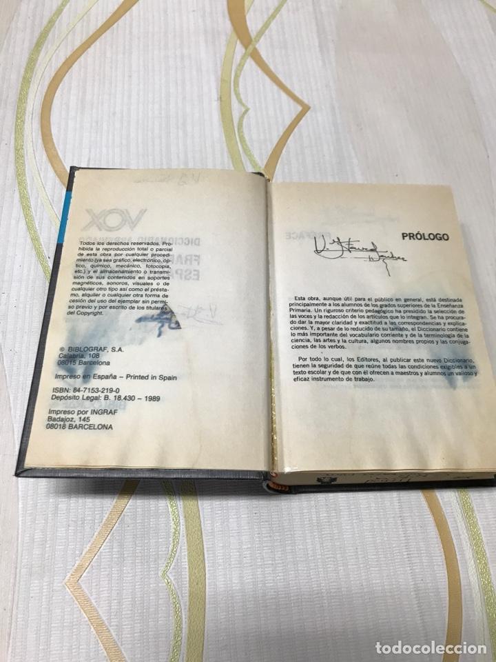 Diccionarios de segunda mano: diccionario abreviado vox (frances español ) ( español francés ) - Foto 2 - 181684150