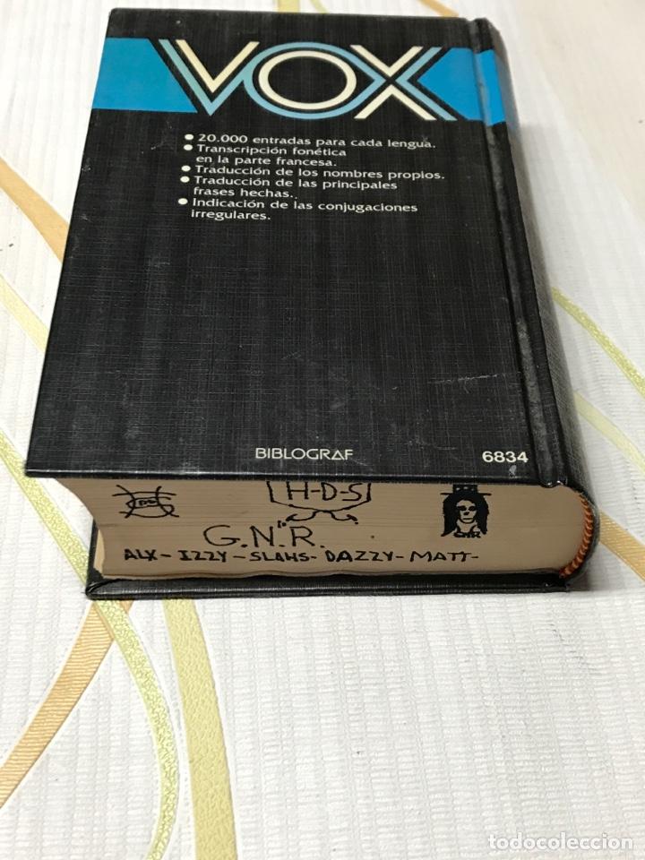 Diccionarios de segunda mano: diccionario abreviado vox (frances español ) ( español francés ) - Foto 4 - 181684150