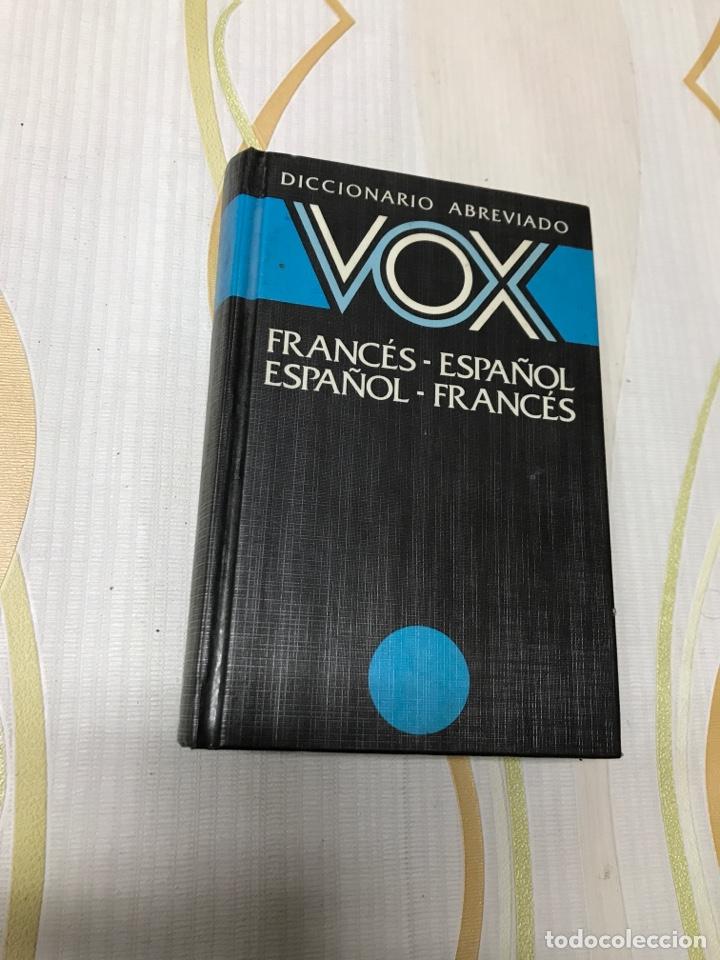 DICCIONARIO ABREVIADO VOX (FRANCES ESPAÑOL ) ( ESPAÑOL FRANCÉS ) (Libros de Segunda Mano - Diccionarios)