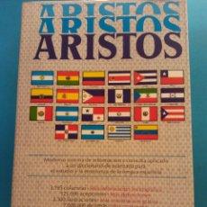 Diccionarios de segunda mano: ARISTOS. DICCIONARIO NUEVO. EDITORIAL RAMON SOPENA. Lote 182172757