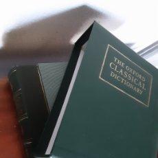 Diccionarios de segunda mano: THE OXFORD CLASICAL DICTIONARY - FOLIO SOCIETY - NUMBERED LIMITED EDITION. Lote 182310935