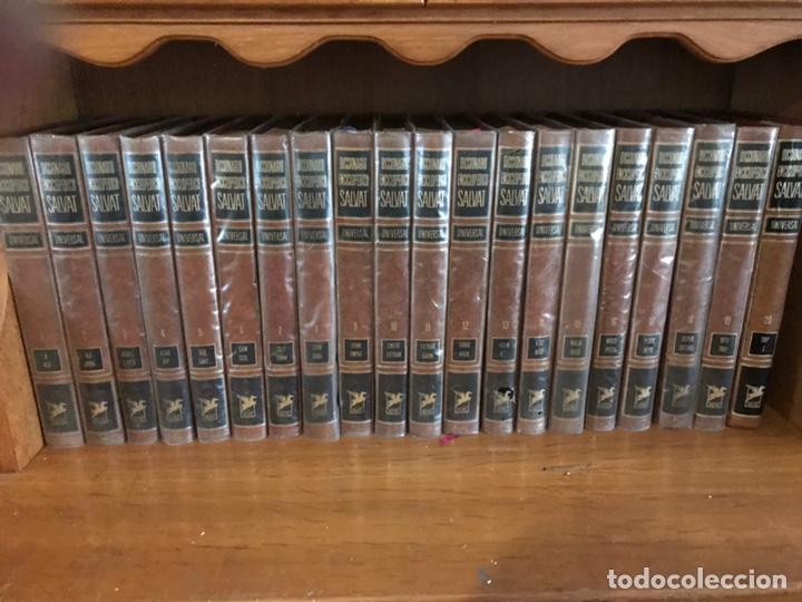 DICCIONARIO ENCICLOPÉDICO SALVAT 1974. COMPLETO 20 TOMOS (Libros de Segunda Mano - Diccionarios)