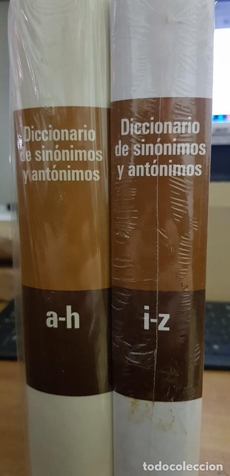DICCIONARIO DE SINONIMOS Y ANTONIMOS – DOS UNIDADES (Libros de Segunda Mano - Diccionarios)