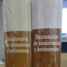 Diccionarios de segunda mano: DICCIONARIO DE SINONIMOS Y ANTONIMOS – DOS UNIDADES . Lote 182362260
