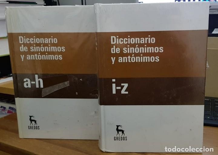Diccionarios de segunda mano: DICCIONARIO DE SINONIMOS Y ANTONIMOS – DOS UNIDADES - Foto 2 - 182362260