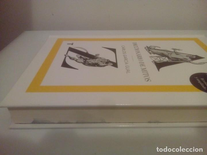 Diccionarios de segunda mano: DICCIONARIO DE MITOS- CARLOS GARCÍA GUAL - Foto 2 - 179075721