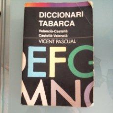 Diccionarios de segunda mano: DICCIONARI TABARCA. Lote 182598682