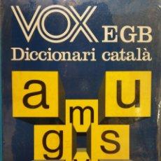 Diccionarios de segunda mano: DICCIONARI CATALÁ. VOX EGB. EDITORIAL BIBLOGRAF. Lote 182600803