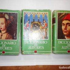 Diccionarios de segunda mano: GONZALEZ PORTO-BOMPIANI DICCIONARIO DE AUTORES Y96964 . Lote 182969377