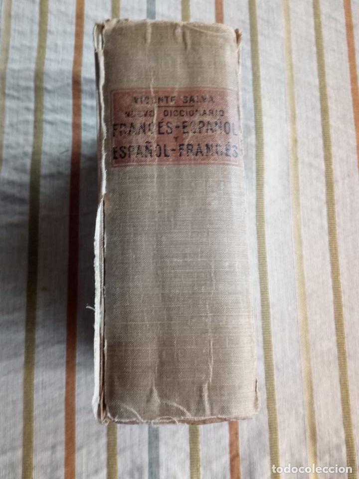 Diccionarios de segunda mano: Nuevo diccionario de Vicente salva Frances español Casa editorial garnier hermanos paris - Foto 2 - 183592998