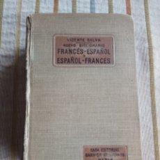 Diccionarios de segunda mano: NUEVO DICCIONARIO DE VICENTE SALVA FRANCES ESPAÑOL CASA EDITORIAL GARNIER HERMANOS PARIS. Lote 183592998