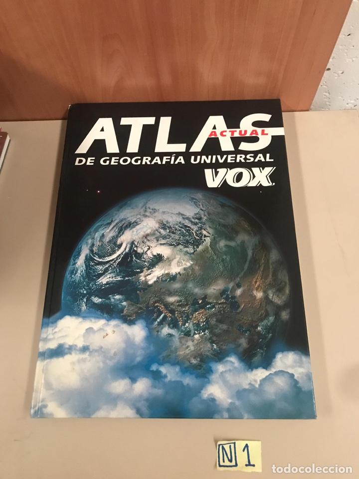ATLAS DE GEOGRAFÍA UNIVERSAL VOX (Libros de Segunda Mano - Diccionarios)