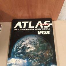 Diccionarios de segunda mano: ATLAS DE GEOGRAFÍA UNIVERSAL VOX. Lote 183734988
