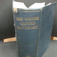 Diccionarios de segunda mano: THE CONCISE OXFORD DICTIONARY. OXFORD 1964.. Lote 183923343