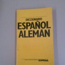 Diccionarios de segunda mano: DICCIONARIO ESPAÑOL ALEMÁN. Lote 183964216