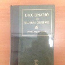Diccionarios de segunda mano: DICCIONARIO DE MUJERES CÉLEBRES. Lote 184033337
