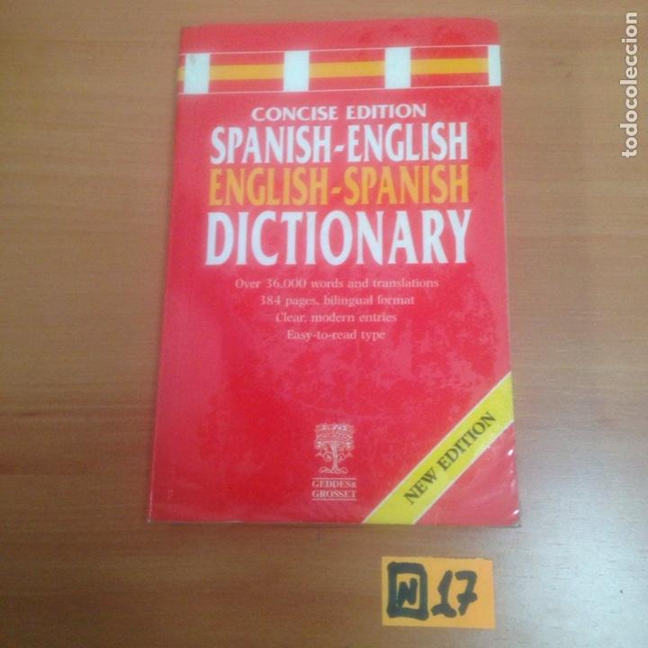 DICCIONARIO ESPAÑOL INGLÉS UN (Libros de Segunda Mano - Diccionarios)