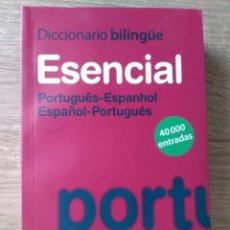 Diccionarios de segunda mano: ESENCIAL, DICCIONARIO PORTUGUES-ESPANHOL Y ESPAÑOL-PORTUGUES. Lote 184749941